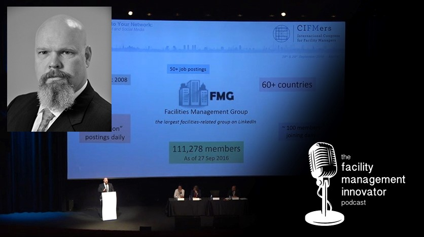 """Ep. 52: """"Unsettling Sentiments in FM""""   Ed Ehlers – VP of Integrated Facilities Management"""